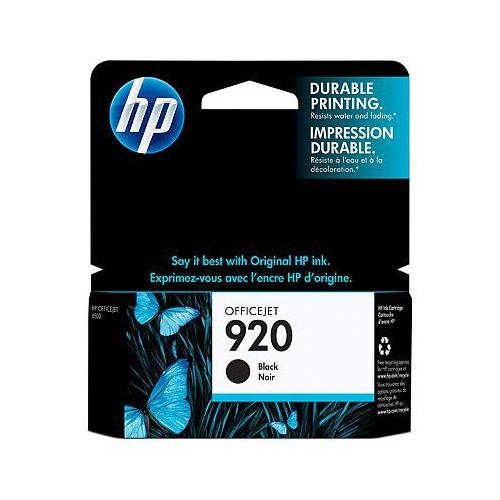 HP 920 CD971AE Black Officejet ink cartridge 420sh