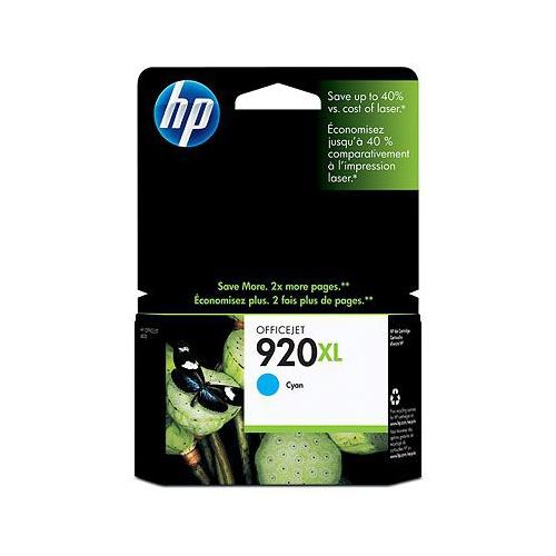 HP 920XL CD972AE Cyan Officejet ink 700sh