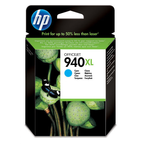 HP 940XL Cyan Officejet Ink cartridge 1400s.