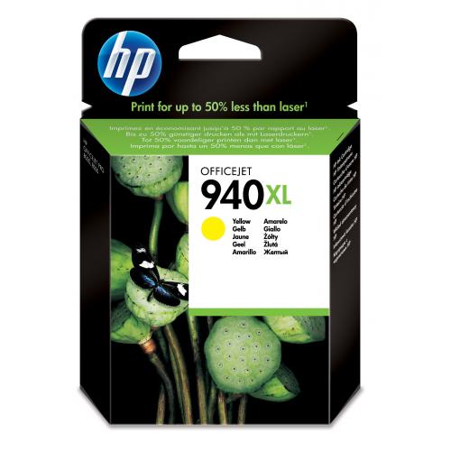HP 940XL Yellow Officejet Ink cartridge 1400s.