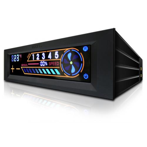 NZXT Sentry 2 LCD Fan Controller, kosketusnäyttö