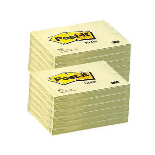 POST-IT 657 viestilappu keltainen 76x102mm