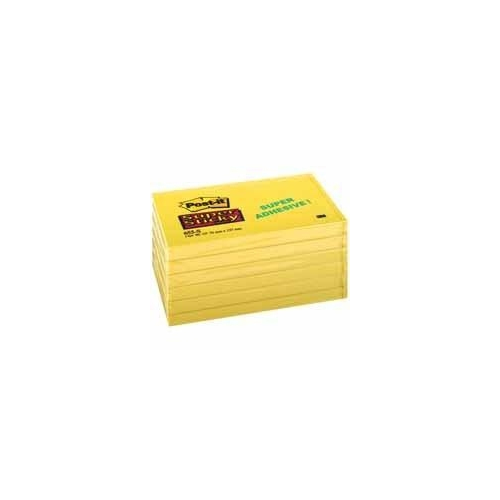 POST-IT 655 Super Sticky keltainen 76x127mm