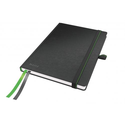 LEITZ Complete muistikirja A5 80-sivua viivat musta