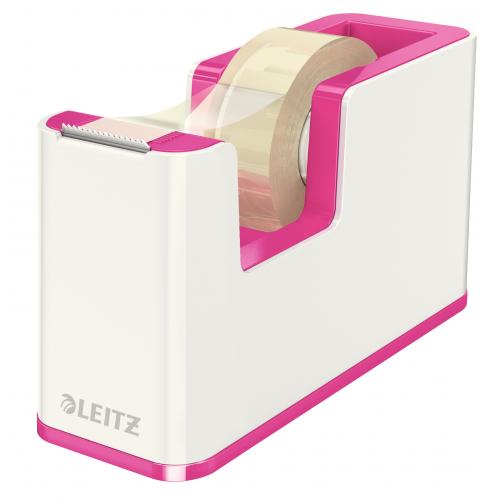 Leitz WOW teippiteline pinkki/valk sis teipin (4kpl/ltk)