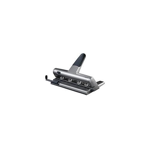 Leitz 5114/95 lävistäjä, 4 siirrettävää terää, 3mm/30arkkia, paperinohjain