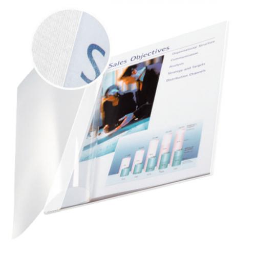 LEITZ kirjansidontakansi A4/3,5mm pehmeä valkoinen/kirkas 10kpl/ltk