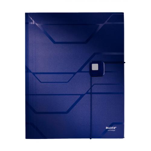 Leitz Prestige esijärjestin sininen A4 6-jakoinen PP