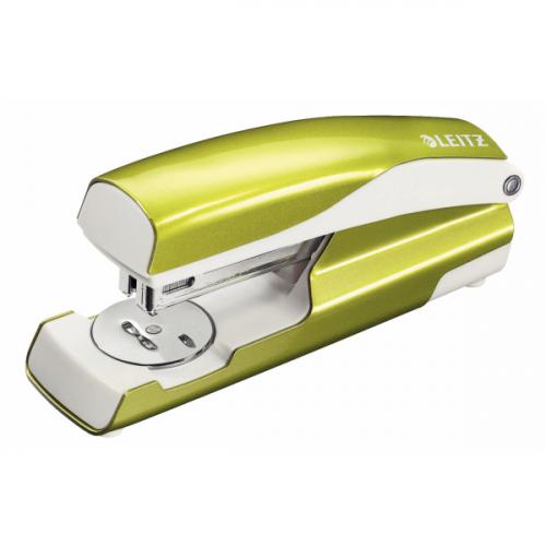 Leitz 5502 WOW metallinitoja vihreä 30arkkia (24/6, 26/6) blisterpakattu (6kpl/ltk)