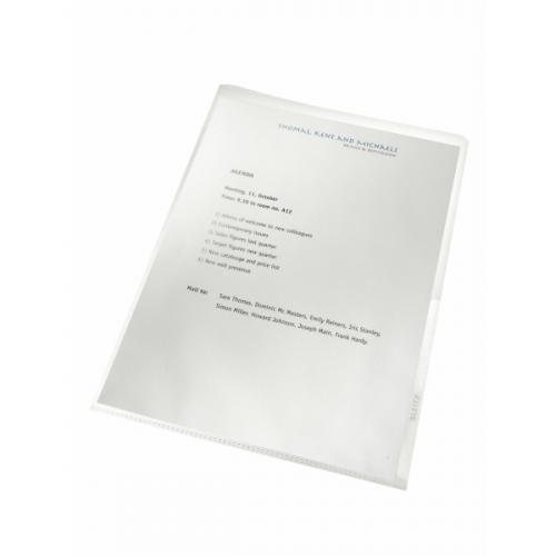 LEITZ Re:cycle muovitasku A4 2-sivua auki 130my appelsiinipintainen 100kpl/ltk