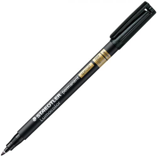 Staedtler Special 319 F musta merkkaustussi 0.6mm (10kpl pkt)