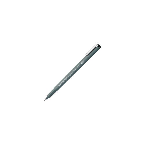 Staedtler 308 0.2mm musta kuitukärkikynä Pigment 308029 (10kpl pkt)