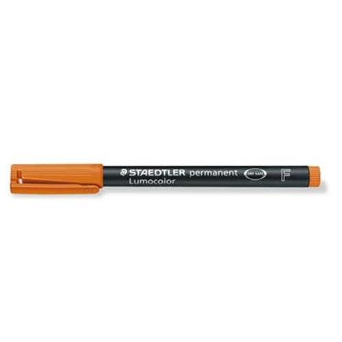Staedtler 318 F oranssi merkkauskynä 0.6mm permanent
