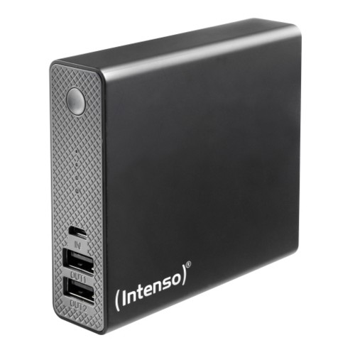 Intenso 13000mAh Powerbank Black USB-lisäakku