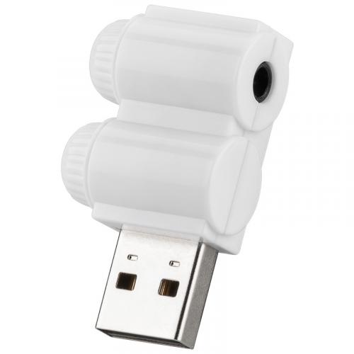Goobay USB 2.0 sound card headset adapter