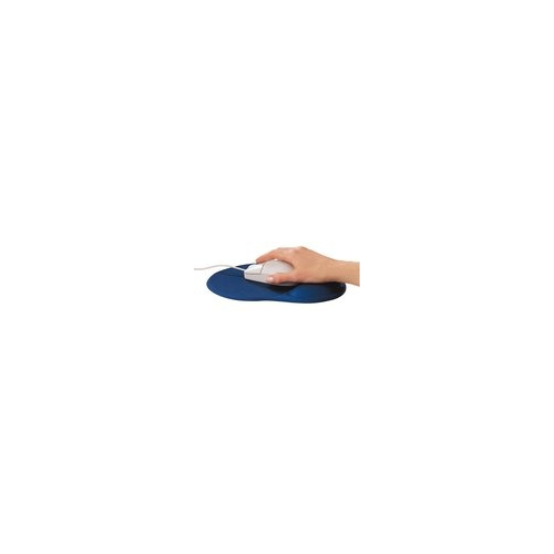 ednet Mouse Pad with Wrist Rest Black