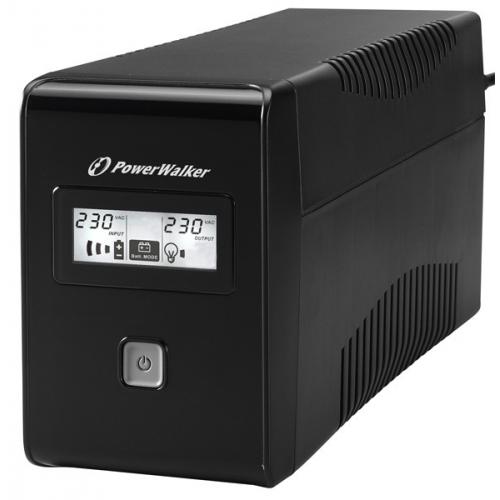 PowerWalker VI 650 LCD Line-Interactive UPS 650VA with LCD