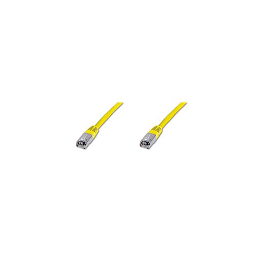 Digitus DK-1641-050 Y Patch Cable SSTP PIMF CAT6 Yellow 5m
