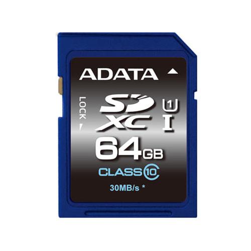 ADATA 64GB SDXC UHS-I Class10
