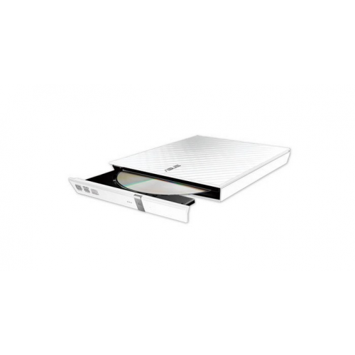 ASUS SDRW-08D2S-U LITE WHITE ASUS DRW- EXTERNAL SLIM - USB CYBERLINK POWER2GO8 (BURN)