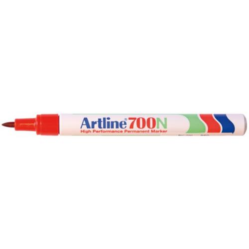 Artline 700 0.7mm punainen pyörökärki huopakynä (12kpl ltk)