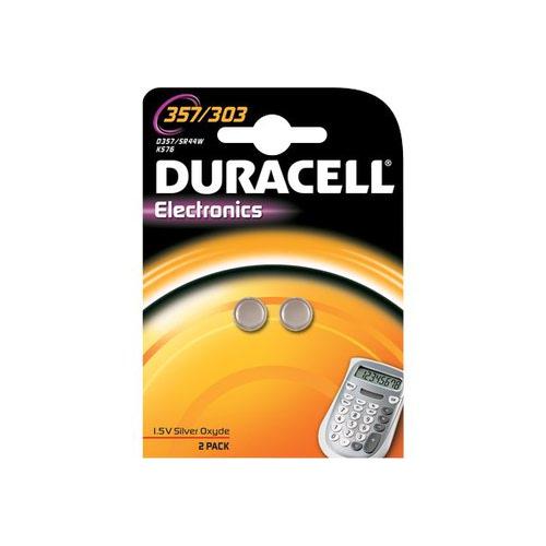 Duracell SR44W nappiparisto 357 303 1.5V 2kpl pkt (10pkt ltk)