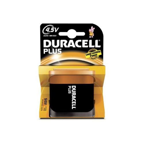 Duracell 3LR12 alkaline 4,5V paristo 1kpl pkt Plus Power (10pkt ltk)