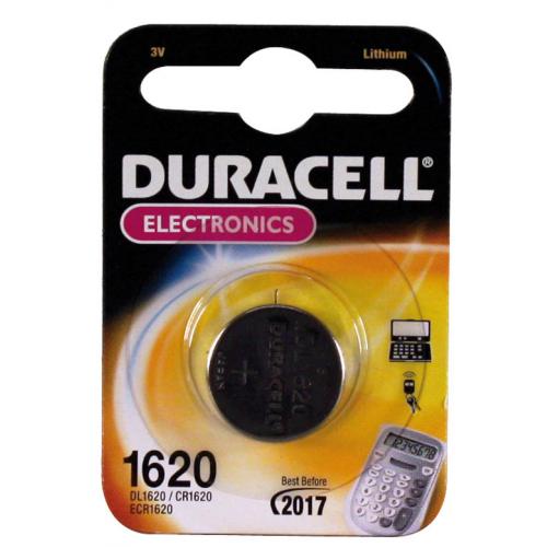 Duracell paristo CR1620 1kpl Litium (10kpl pkt) (ent. Maxell)