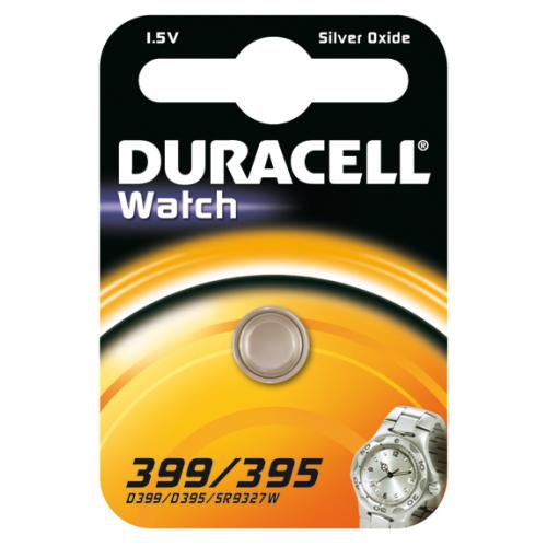 Duracell SR57 nappiparisto 399 395 1.5V 1kpl pkt (10pkt ltk)