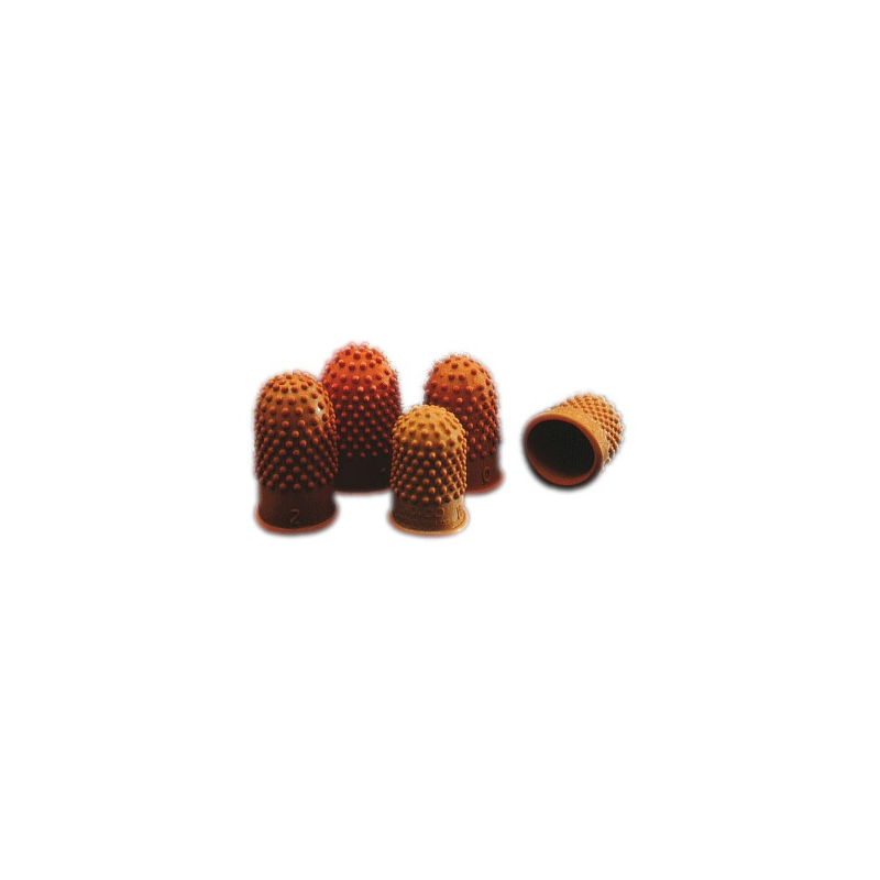 Rexel sormikumi nro 00 14mm oranssi 10kpl pkt