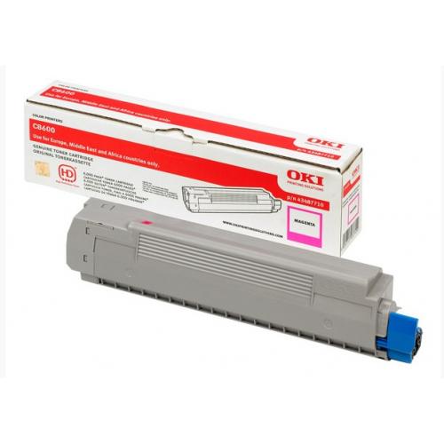 OKI C8600 Toner Magenta 43487710 6K (C8800)