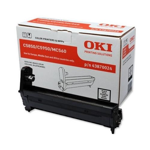 OKI C5850/5950 Drum black 20K 43870024