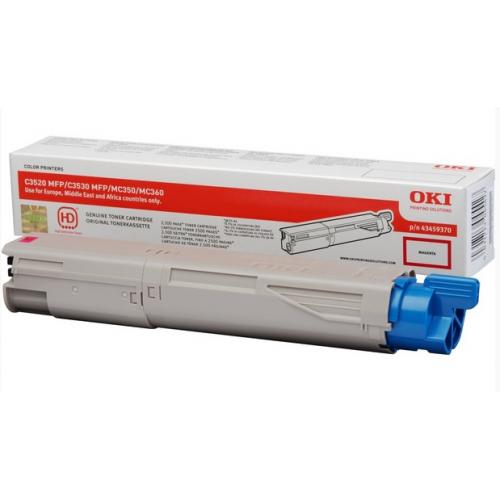 OKI C3520/30/MC360 Toner HC Magenta, 2,5K