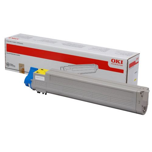 OKI C9655 Toner Y Yellow 22K 43837129
