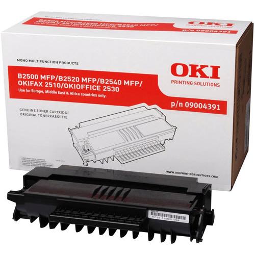 OKI B2500 MFP musta väri High Capacity