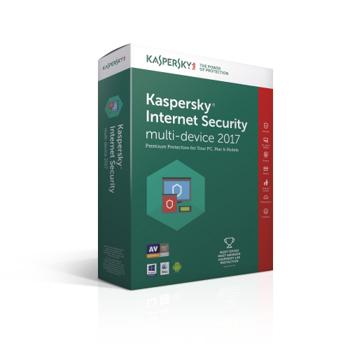 KASPERSKY Internet Security 2017 3User 3Year OEM