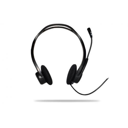 Logitech Stereo kuuloke-mikrofoni 960 USB