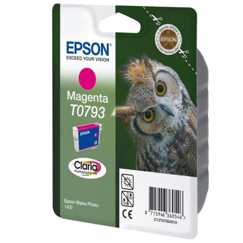 Epson T079340 magenta ptr Stylus Photo 1400