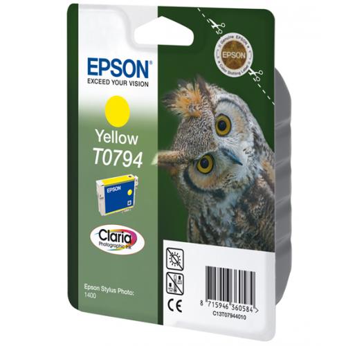 Epson T079440 yellow ptr Stylus Photo 1400