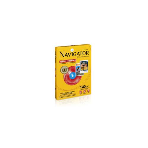 Navigator A4 120g ColourDocument 250ark pkt (8pkt ltk, 384pkt lava)