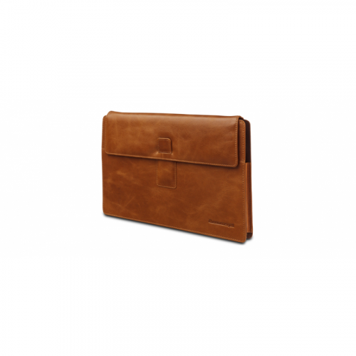 DBRAMANTE1928 Leather slimcase for MS Surface RT Pro – Golden tan