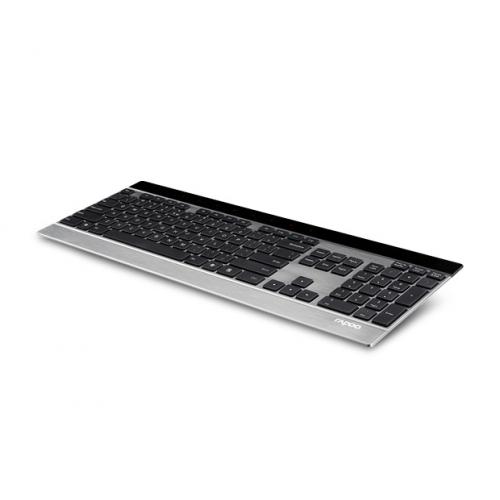 Rapoo E9270P Wireless Ultra-slim Touch Keyboard Silver, 5GHz