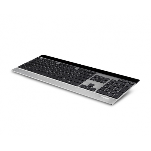 Rapoo E9270P Wireless Ultra-slim Touch Keyboard Silver, 5GHz