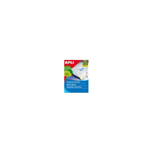 APLI tulostustarra 10-jak 99,1x57mm, pyöreät kulmat