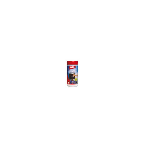 Puhdistusliina APLI antistaattinen, TFT LCD näytöille, 100kpl prk