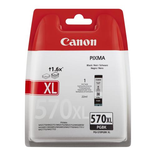 CANON PGI-570XL PGBK BL SEC