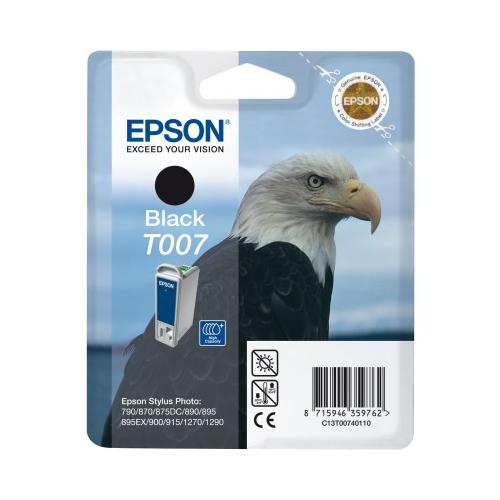 Epson T007401 musta Stylus photo 870 1270 875DC
